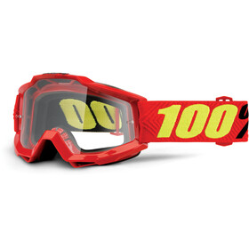100% Accuri Anti Fog Clear Gafas enduro, saarinen